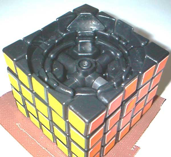 这个五阶魔方的结构图是用cad画出来的吗?该怎么画